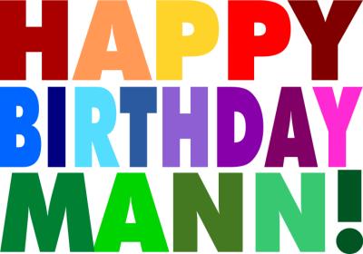 Digital Postcard: Bild: Happy Birthday Mann!